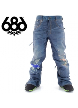Штаны мужские 686 Ltd.55DSL Thrashed Denim Indigo 2015