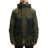 Куртка Authentic Surplus Insulated Olive Mlnge Clrblk 2017