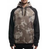 Толстовка Knockout Bonded Fleece Pullover Khaki Camo 2017