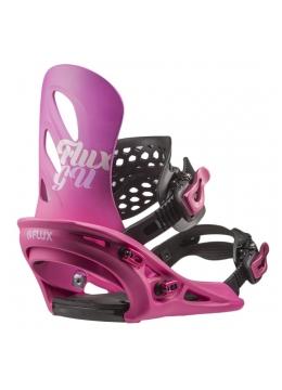 Крепления для сноуборда Flux GU Pink 2019