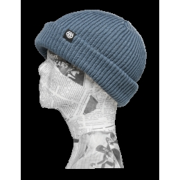 Roll-Up Beanie Heather Charcoal 2015