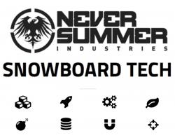 Технологии сноубордов Never Summer